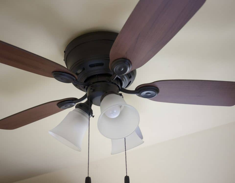 Ceiling Fan Distributing Heat - Superior Co-Op HVAC, Saratoga, NY