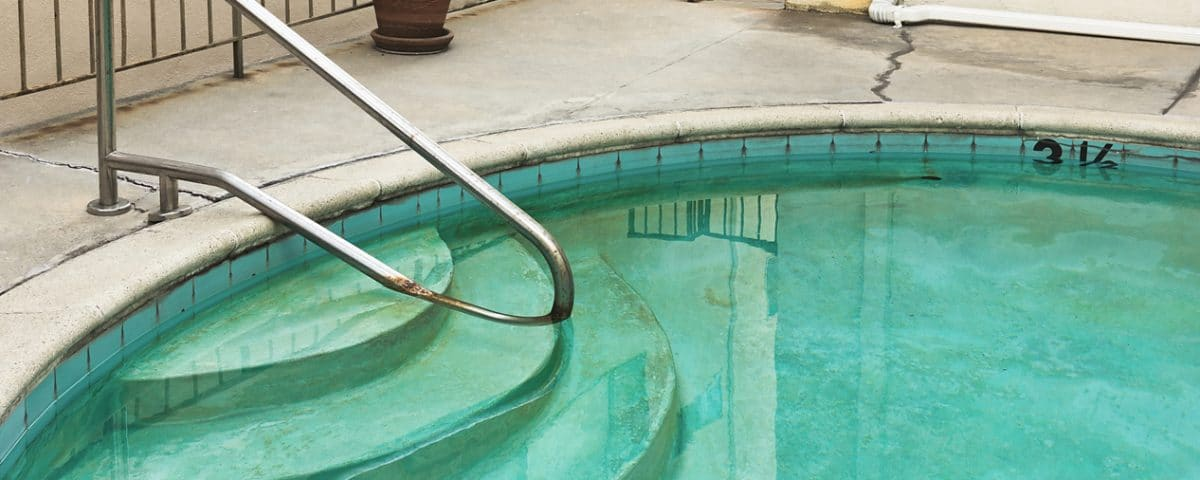 Pool Algae - Pool Cleaning