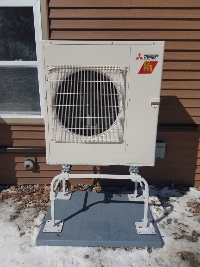 Clean renewable energy for heating and cooling