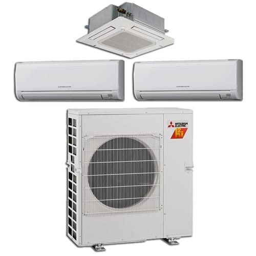 Mitsubishi Hyper Heating System Equipment Examples