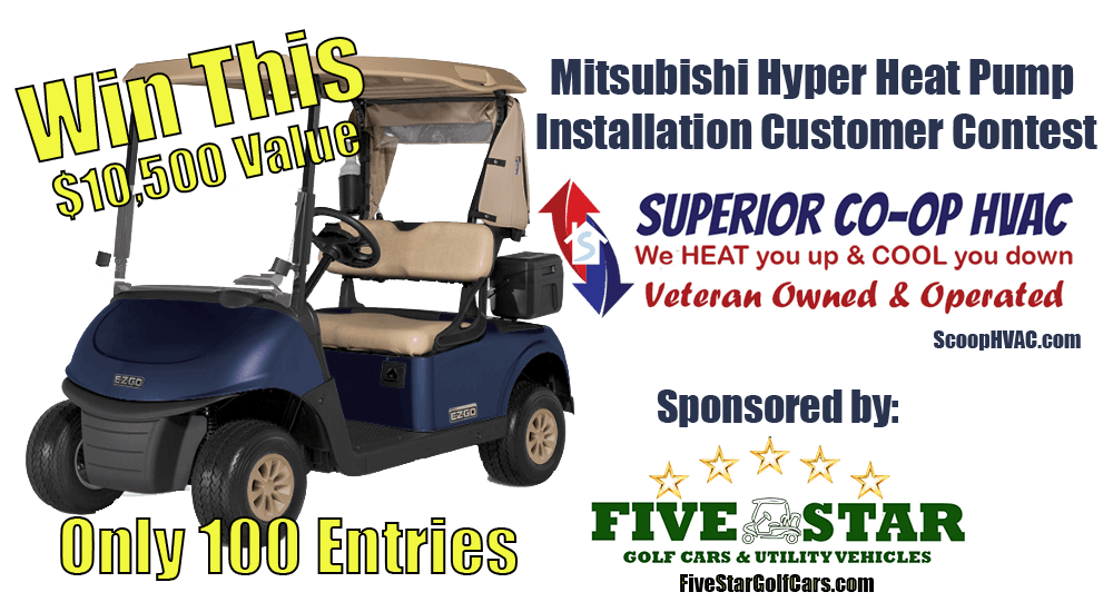 Mitsubishi Hyper Heat Pump Installation Customer Contest